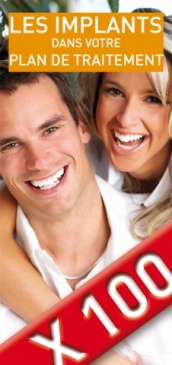 Les implants dentaires, les modalit�s